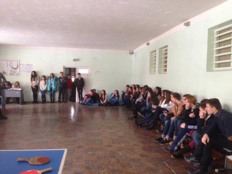 Pupils in Ivano-Frankivsk were told how to become a dentist